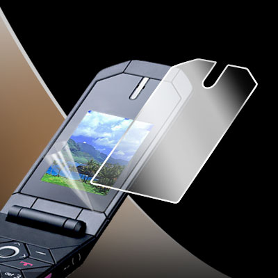 Clear LCD Screen Cover for Nokia 7070