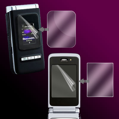2 x Crystal Screen Guard for Nokia N75