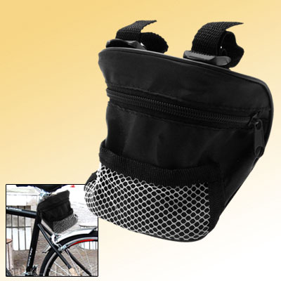 Nylon Netty Bicycle Bag with Zipper for