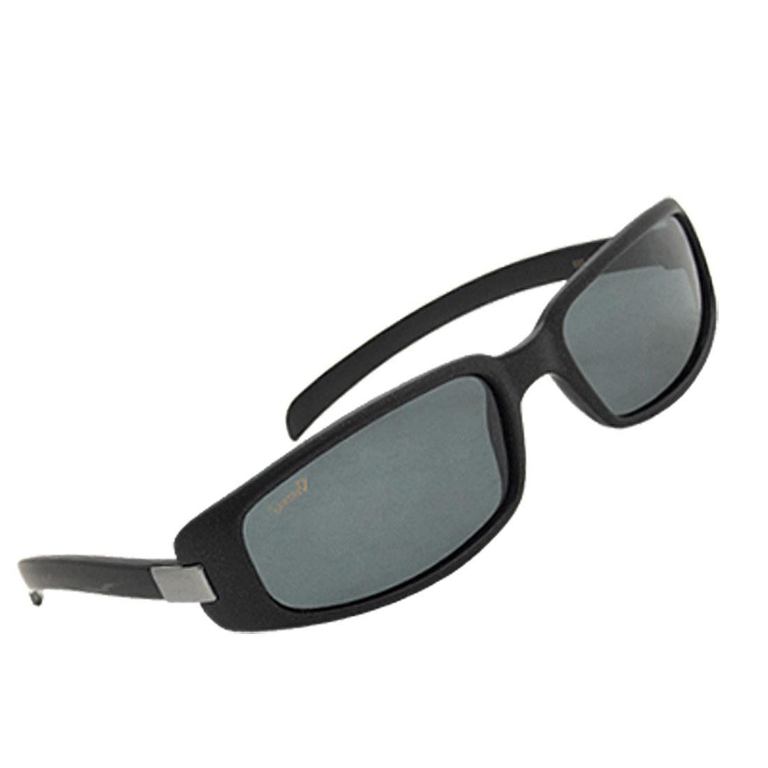 Black Frame Rectangle Lens Polarized Women Sunglasses Laoin