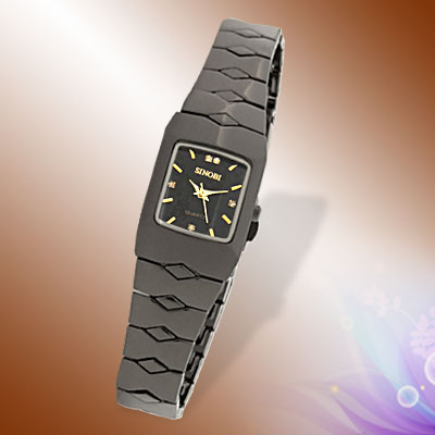 Fashion Ladies' Exquisite Birthday Gift Metal Band Quartz Watch