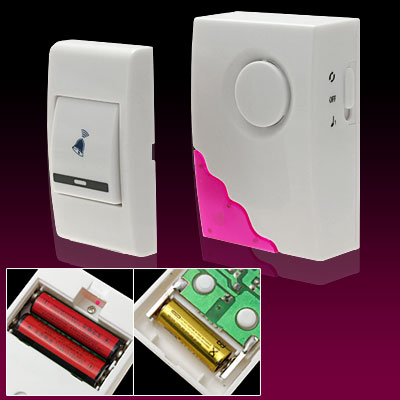 Wireless 50m Remote Control Chime Doorbell with Sound