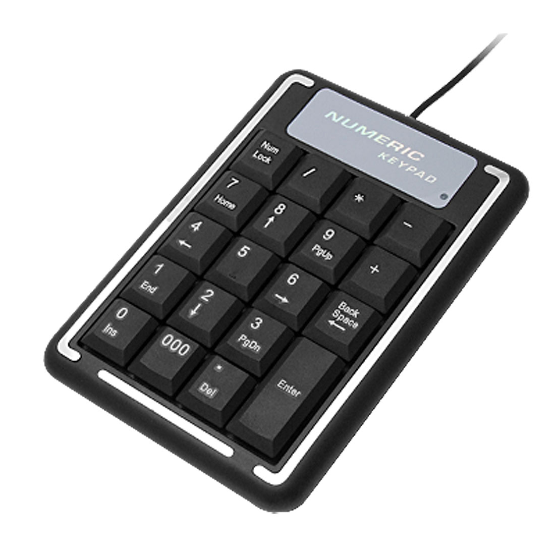 Mini 19 Keys USB Laptop Notebook Numeric Keyboard Number Keypad