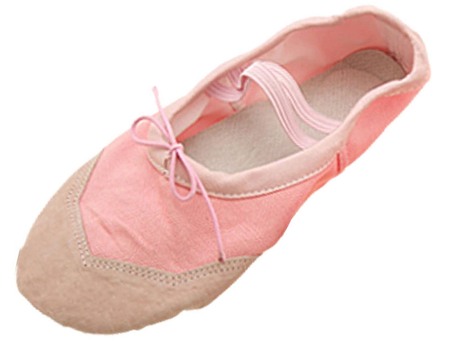 Girls Ballet Dance Dancing Soft Sole Pink Shoes Size 5