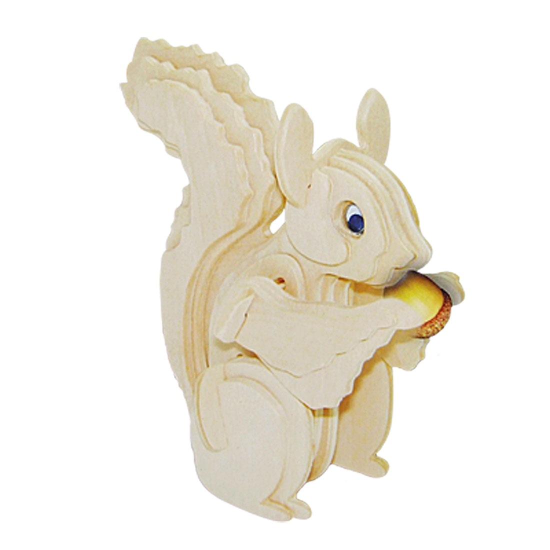 Squirrel Model Woodcraft Construction Kit 3D Puzzle Toy