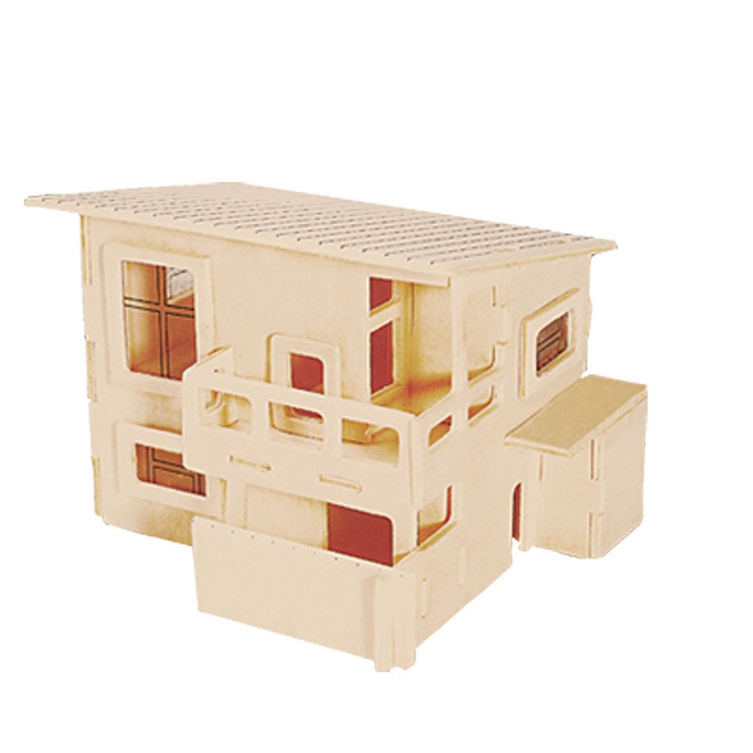 Breezy House 3D Model Woodcraft Construction Kit Puzzle Toy
