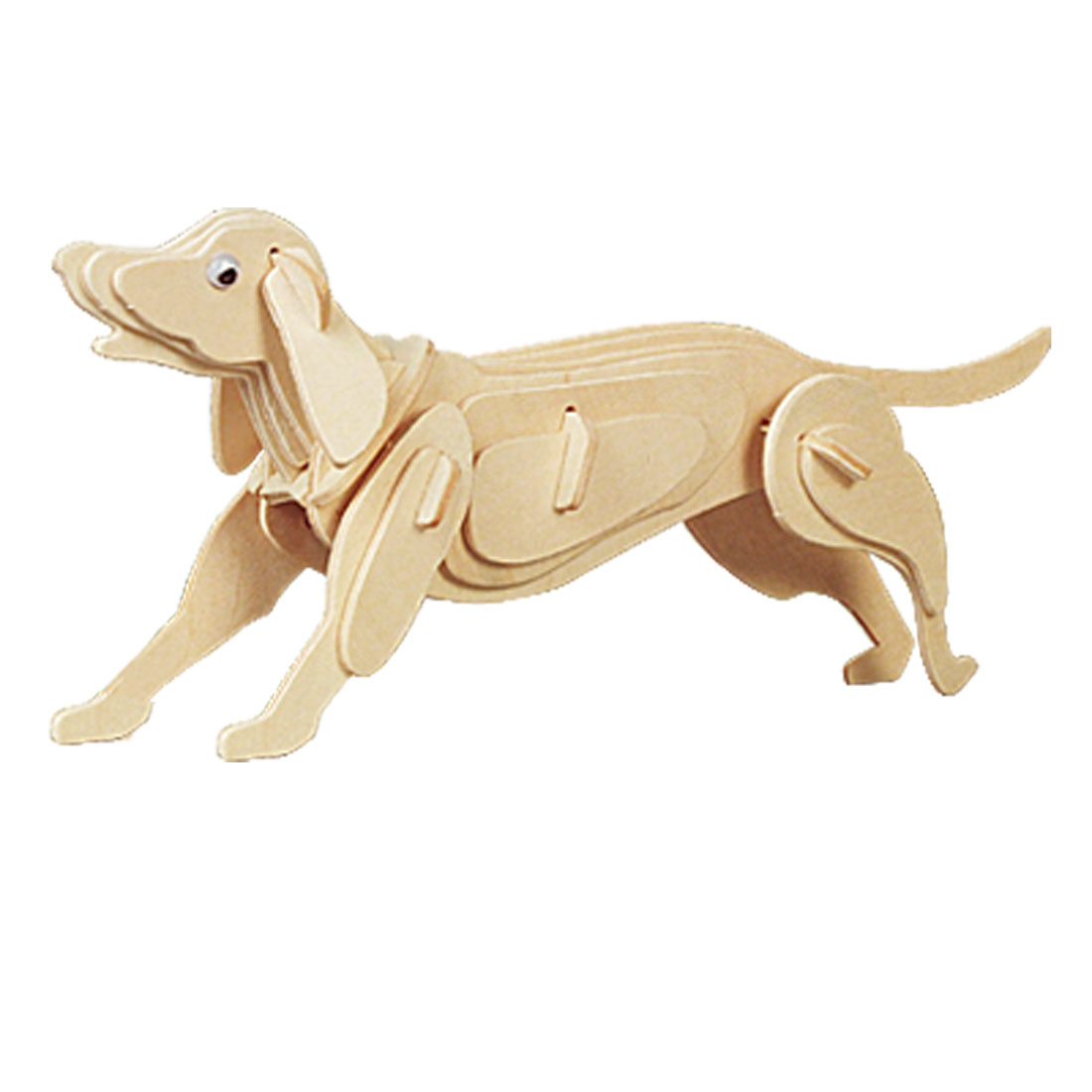 DIY Dog Model Woodcraft Construction Kit 3D Puzzle Toy