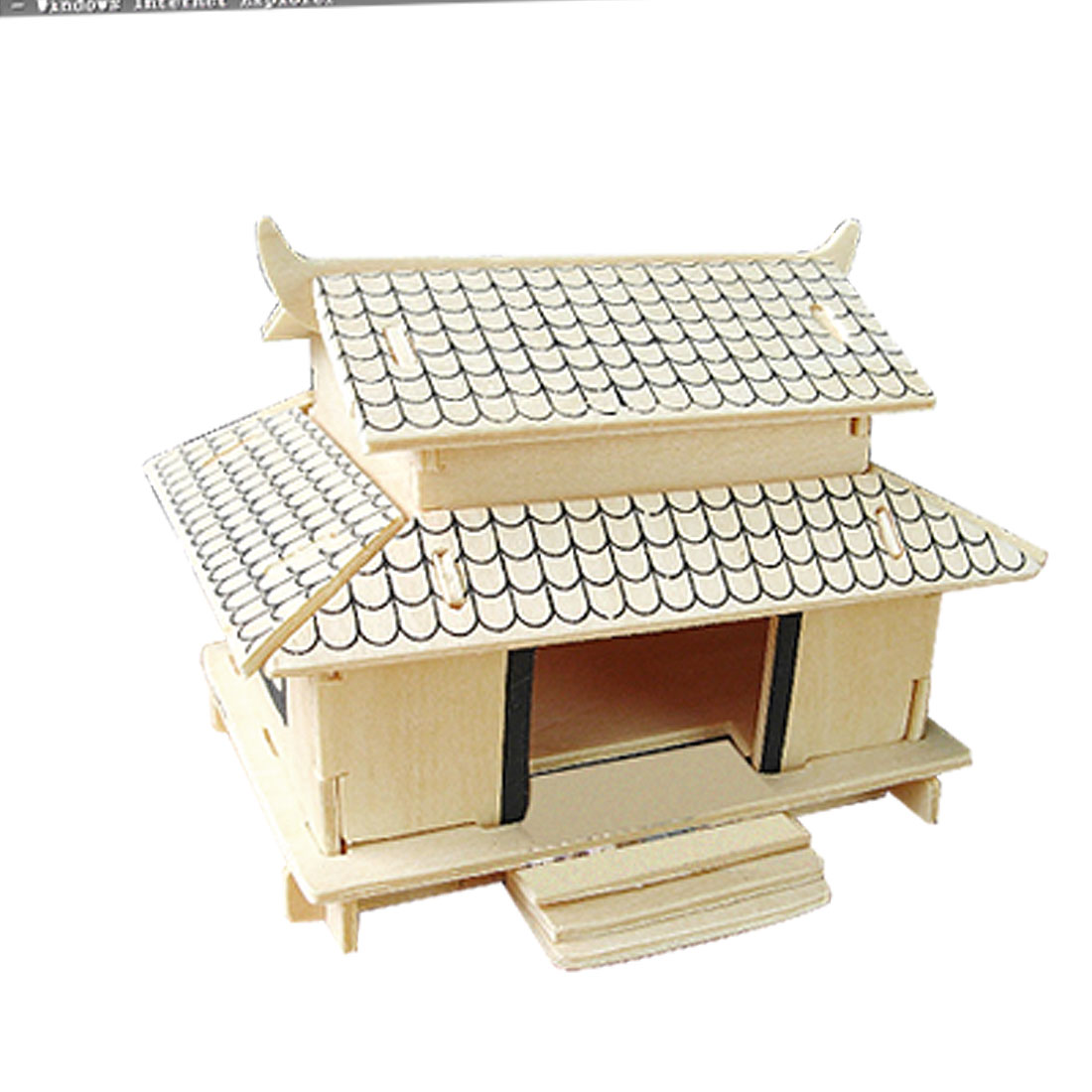 3D Japanese House Model Woodcraft Construction Kit Puzzle Toy
