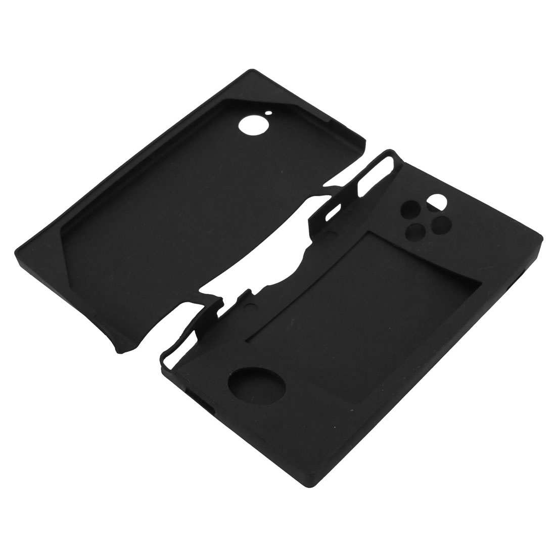 Black Soft Silicone Skin Cover Case Protector Guard for Nintendo DSi NDSi
