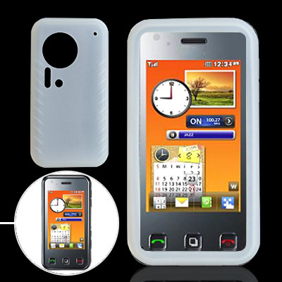 Clearwhite Silicone Cover for LG KC910