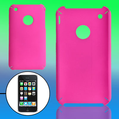 Round Hole Hard Plastic Case Protector for Apple iPhone 3G / 3GS