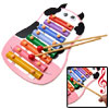 Cartoon Milch Cow Xylophone Hand Knocks Music Toy