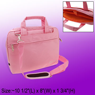 10 Inch Laptop Notebook Carry Handbag Shoulder Bag Pink
