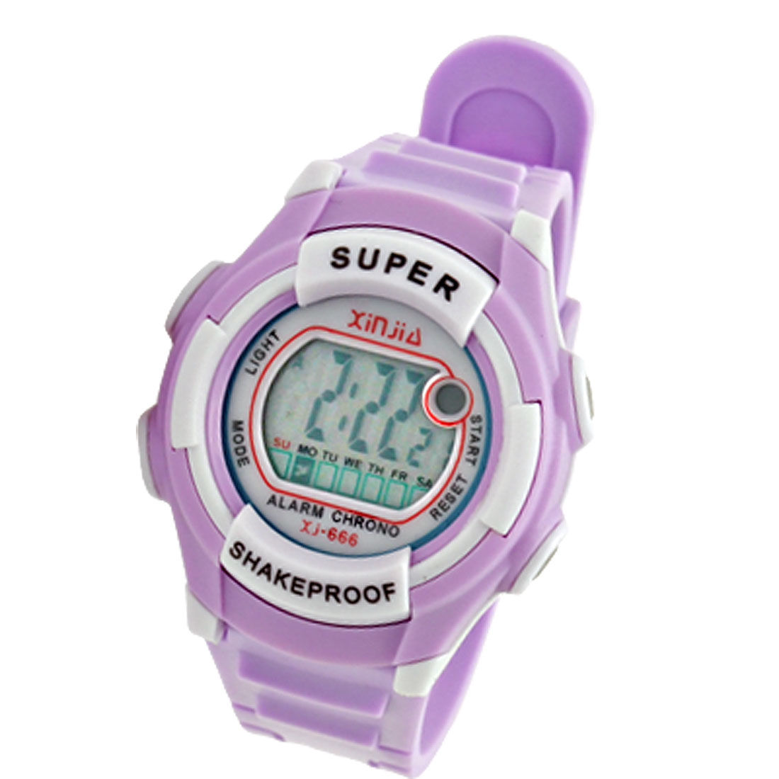 LCD Digital Sports Alarm Watch Stopwatch for Kids Children