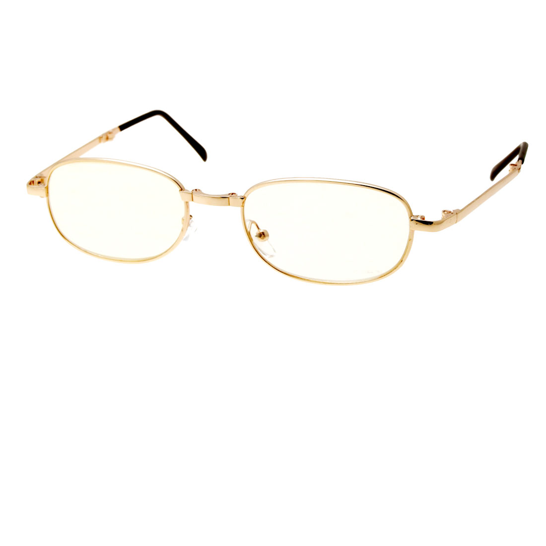 3.50 Folding Golden Presbyopic Magnifying Reading Glasses Eyeglasses