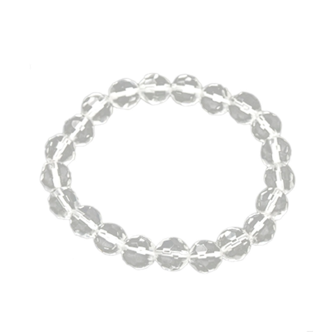 Girls Fashion Crystal Elegant Clear Beads Bracelet