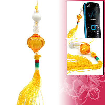 Chinese Lantern Tassel Mobile Phone Strap
