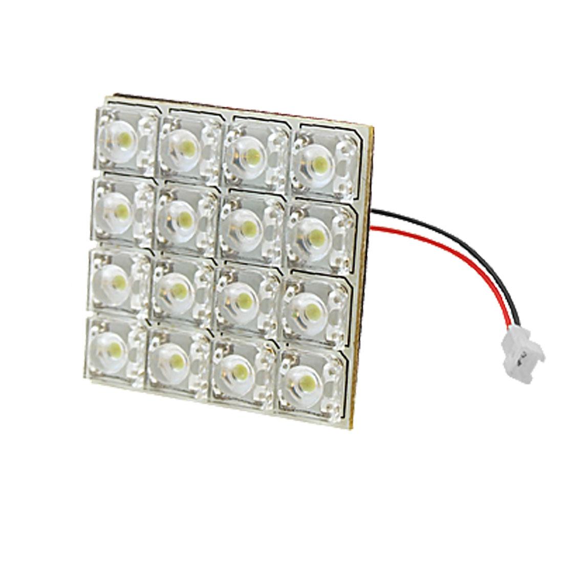 16 LED Auto Car Interior Dome/Door/Box Light Lamp Bulb