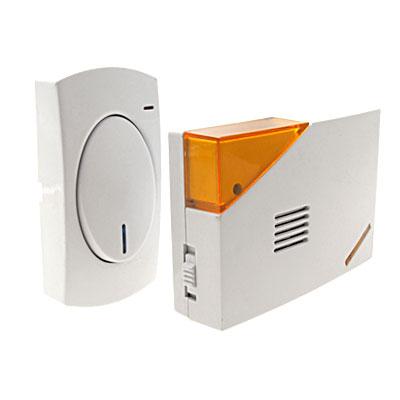 Battery Powered Wireless Cordless Doorbell Door Chime