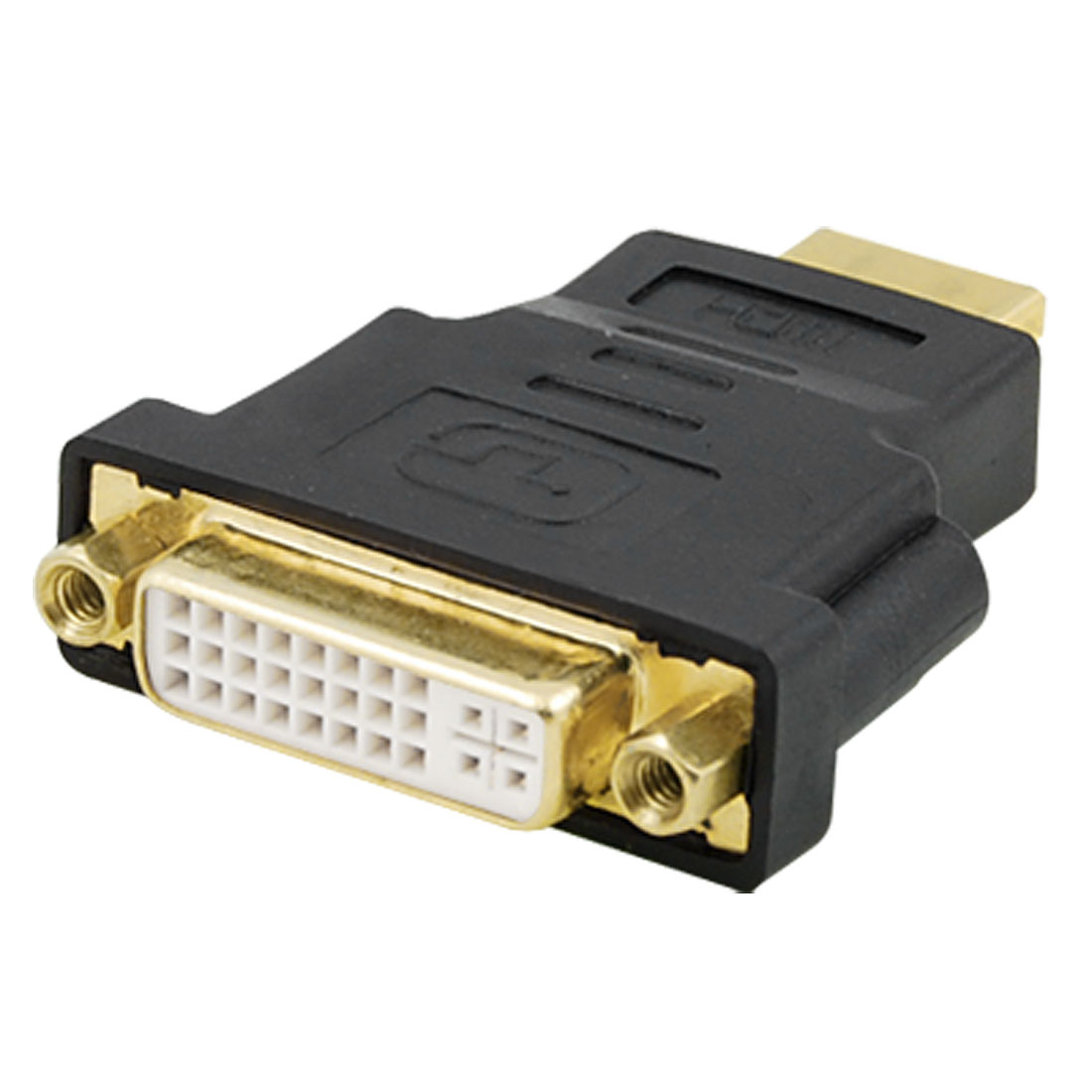 Dual Link DVI-I Female to HDMI Male Connector Converter Adapter