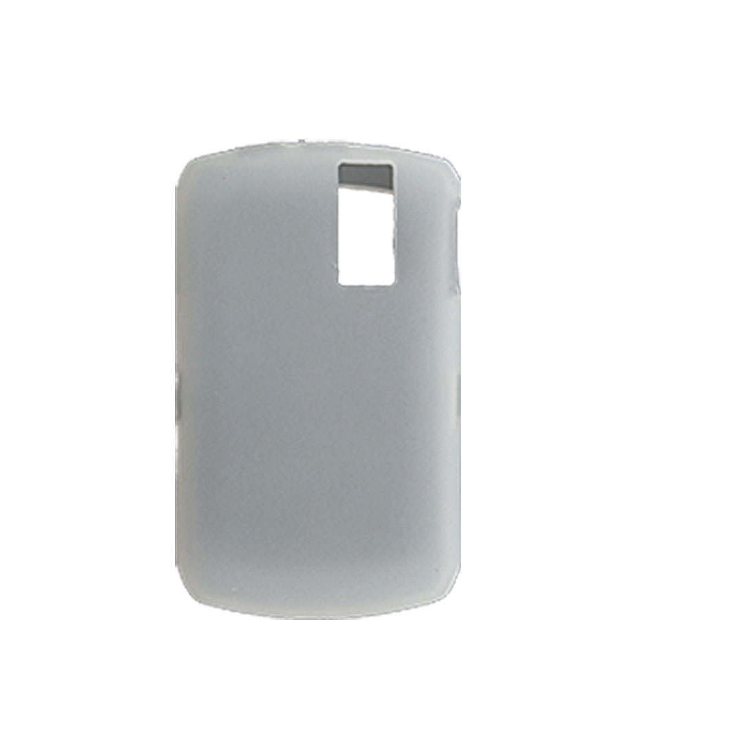 Clear White Silicone Case for Blackberry Curve 8300 / 8310 / 8320
