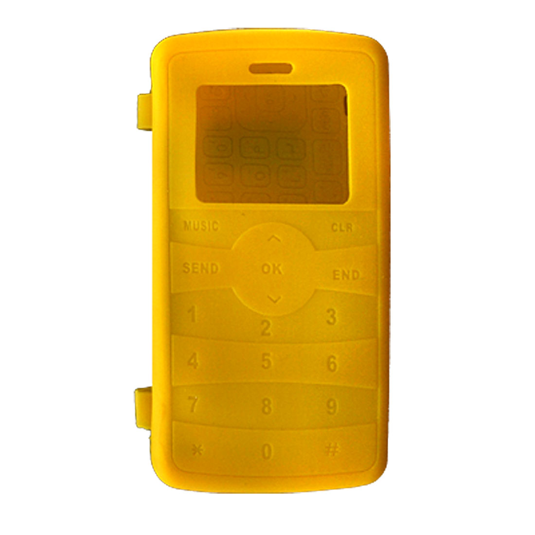 Silicone Skin Case Cover for LG VX9100 Yellow