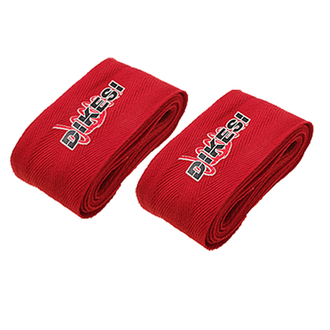 Red Boxing Kick Martial Arts Hand Palm Wrist Wrap Bandage PAIR