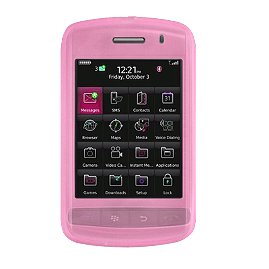 Protector Silicone Case for Blackberry Storm 9500 / 9530
