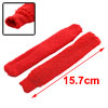 Badminton Racket Handle Anti-Slip Elastic Towel Towelling Grip Repalcement Red Pair