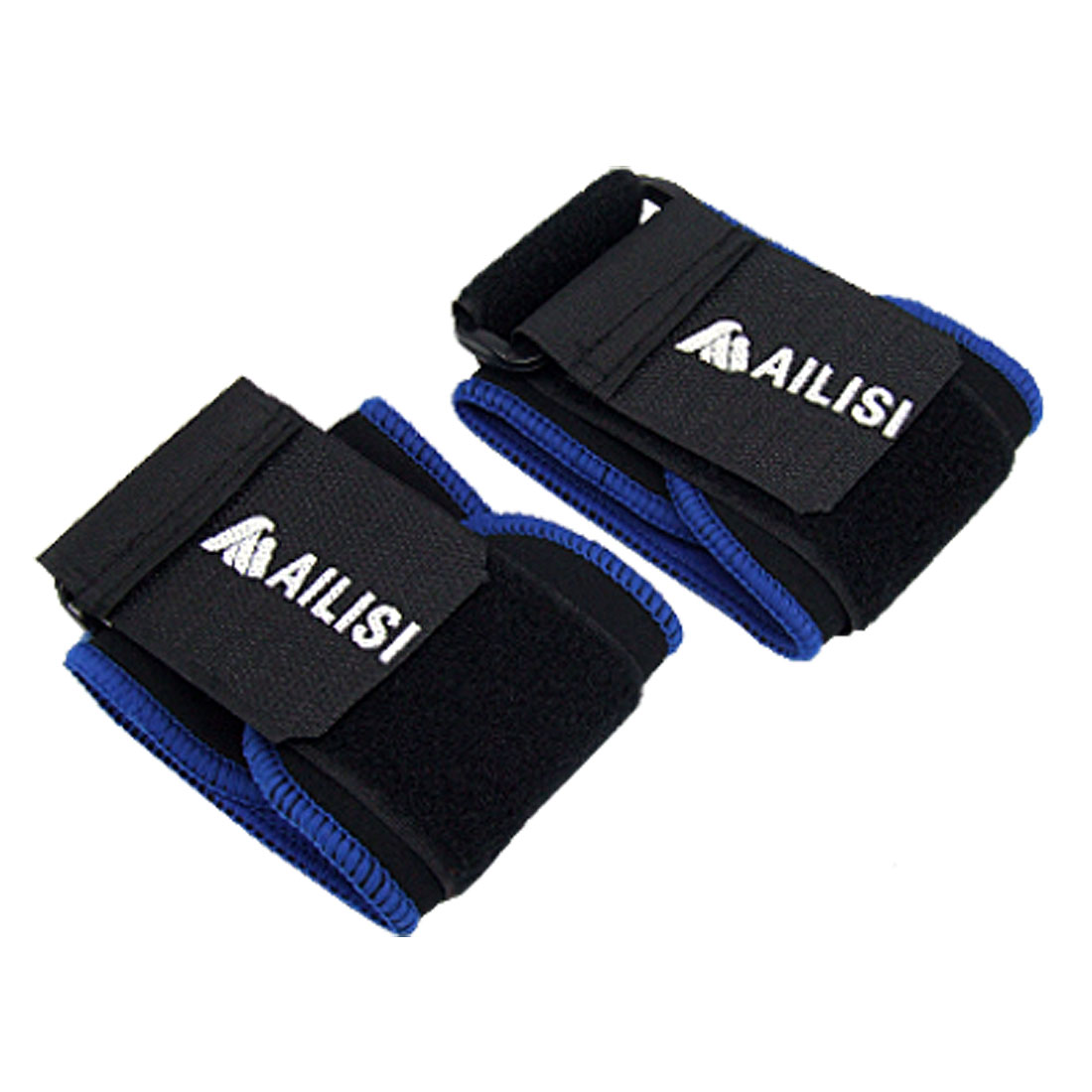 Pair of Black Sports Elastic Wrist Support Protector