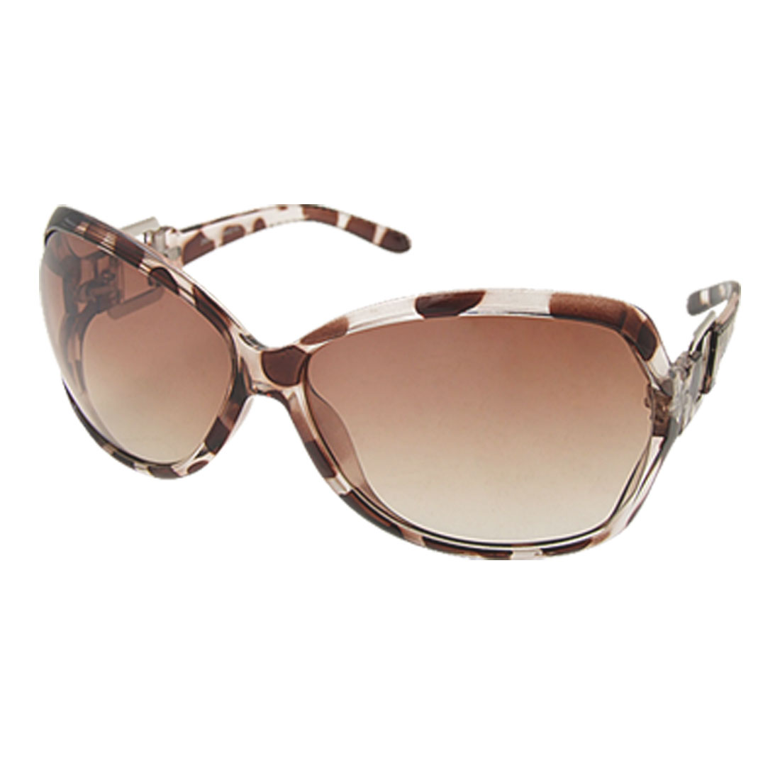 Leopard Plastic Fashion Sunglasses Eyewear for Ladies