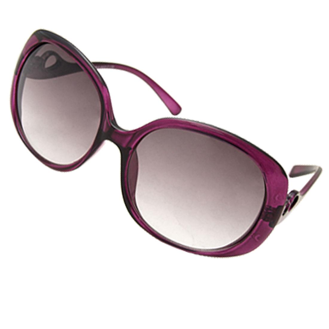 Purple Plastic Ladies' Sunglasses Eyewear