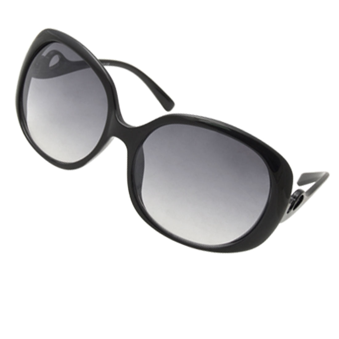 Fashion Black Frame Plastic Sunglasses Eyewear for Ladies