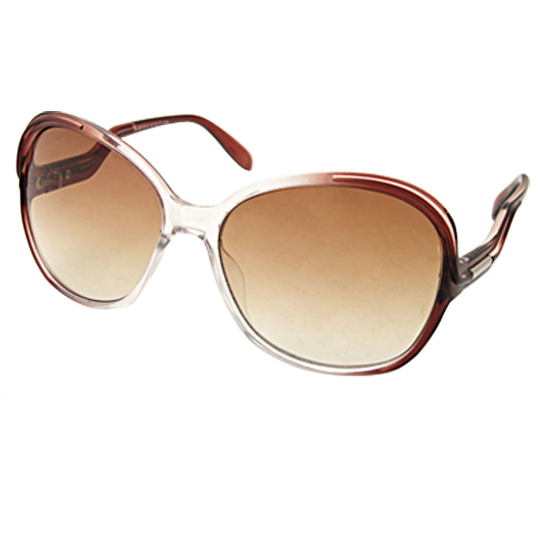 Plastic Women's Sunglasses Fashion Eyewear with Amber Lens