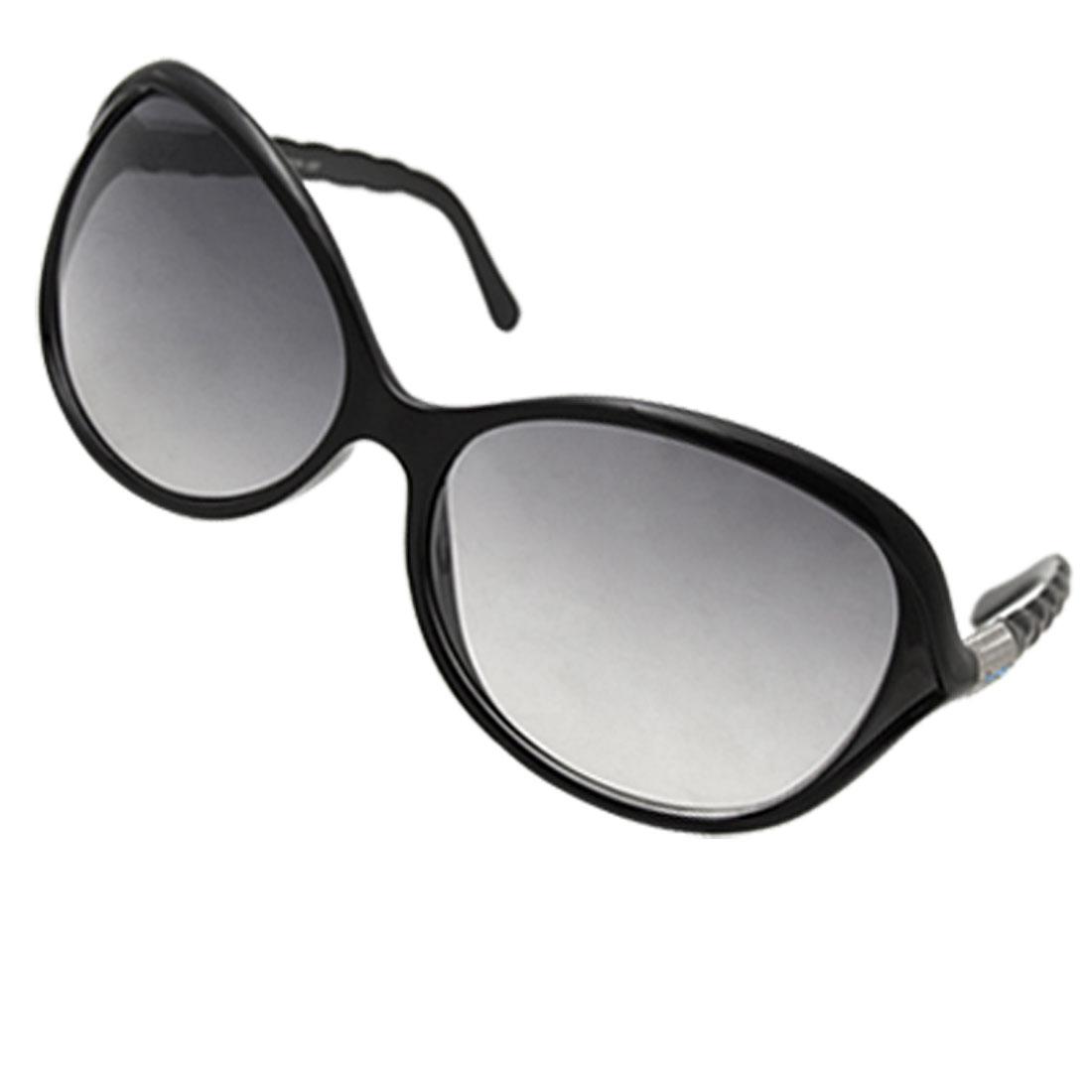 Fashionable Black Frame Unisex Sunglasses Eyewear