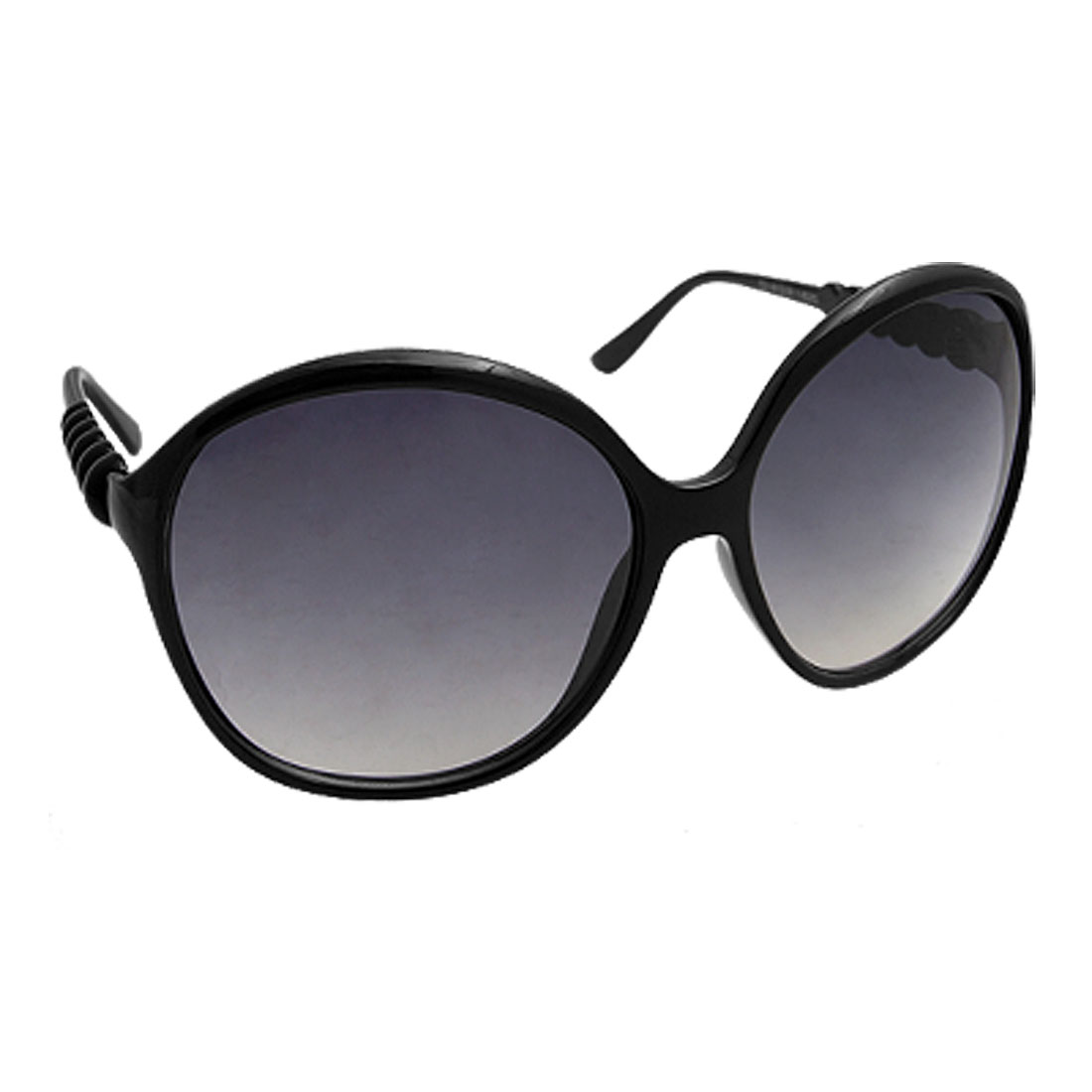 Black Frame Arms Sunglasses Eyewear for Women