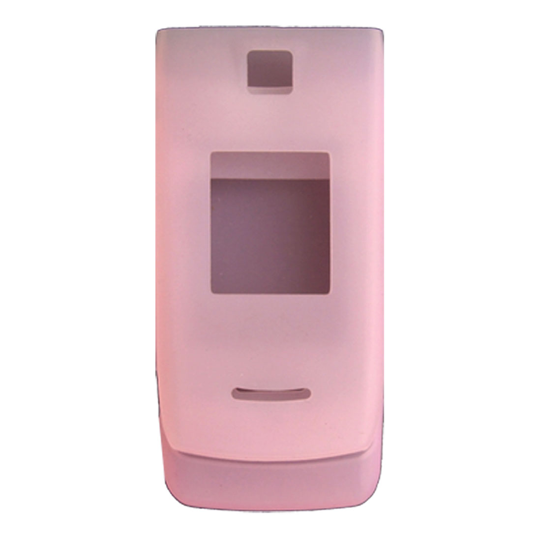 Soft Pink Silicone Skin Case Protector for Nokia 3610F