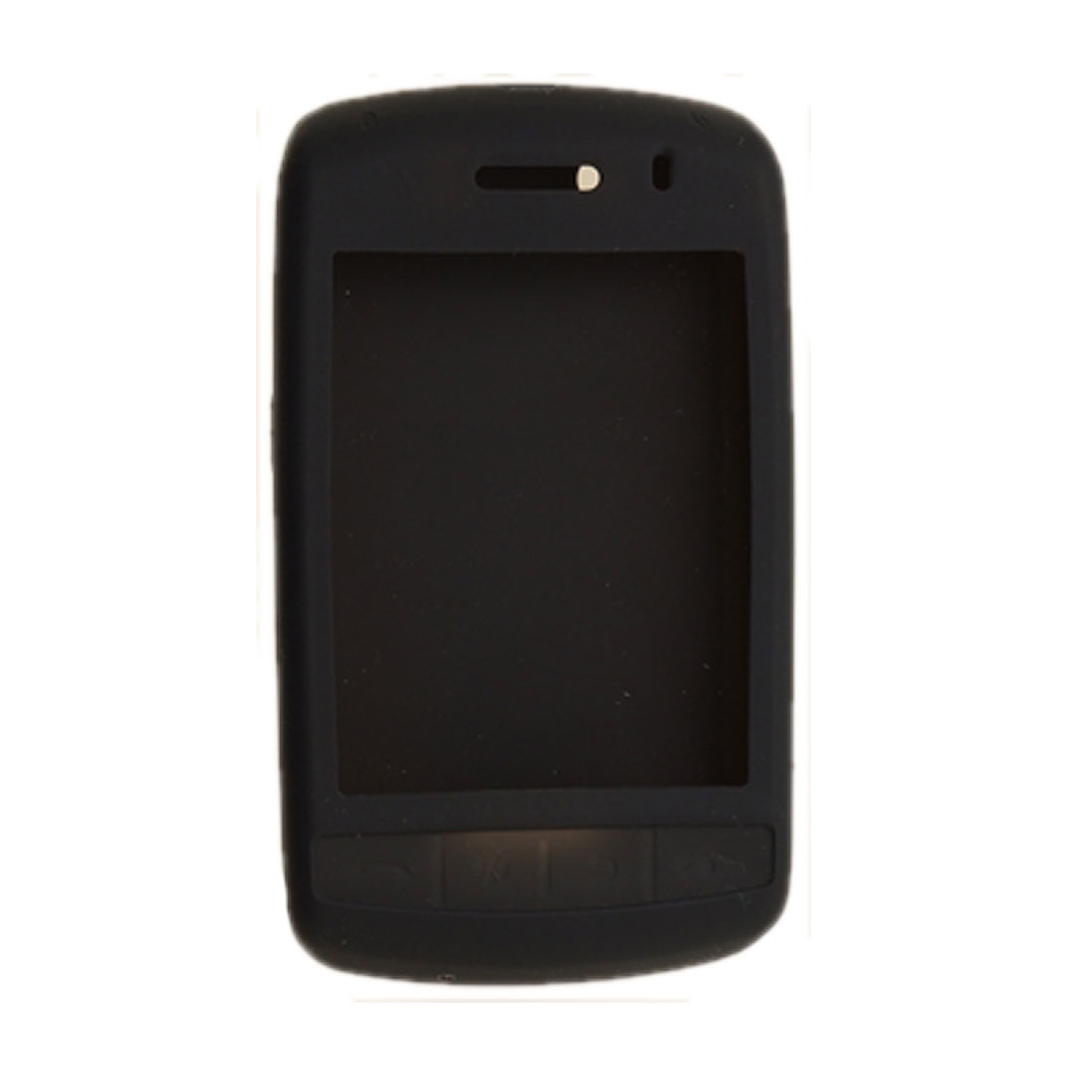 Black Soft Protective Silicone Case for Blackberry 9500 / 9530
