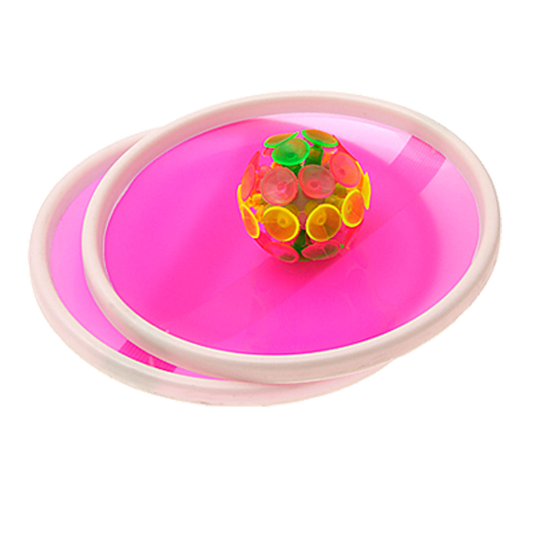 Creative Soft Sticky Ball Game with 32 Suction Cup and 2 Round Bats