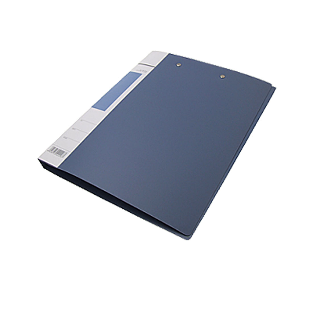 Economical Double-Lever Clamp Document File Folder Blue