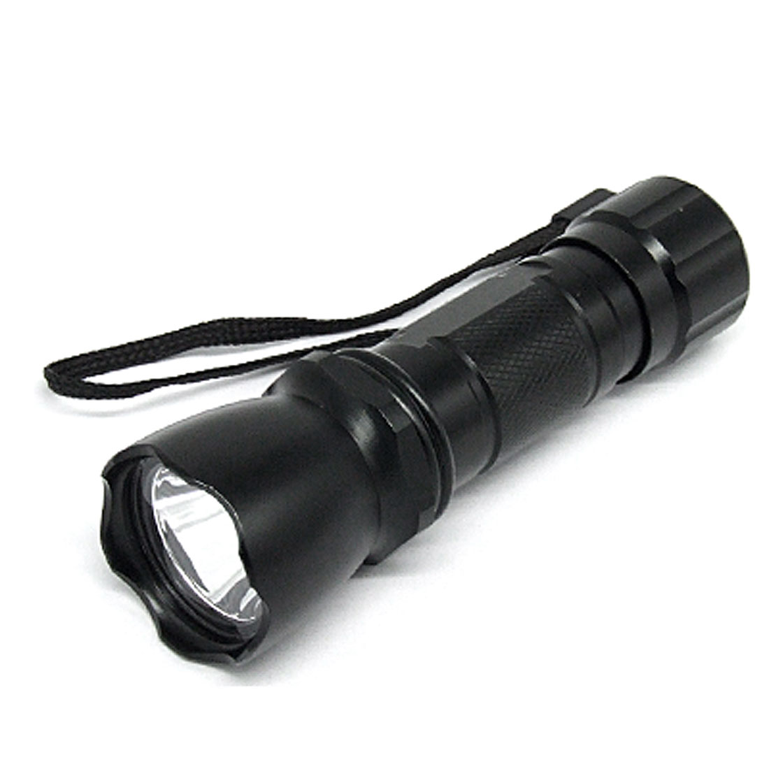 Mini Alloy Hand Torch Flashlight Light with White LED