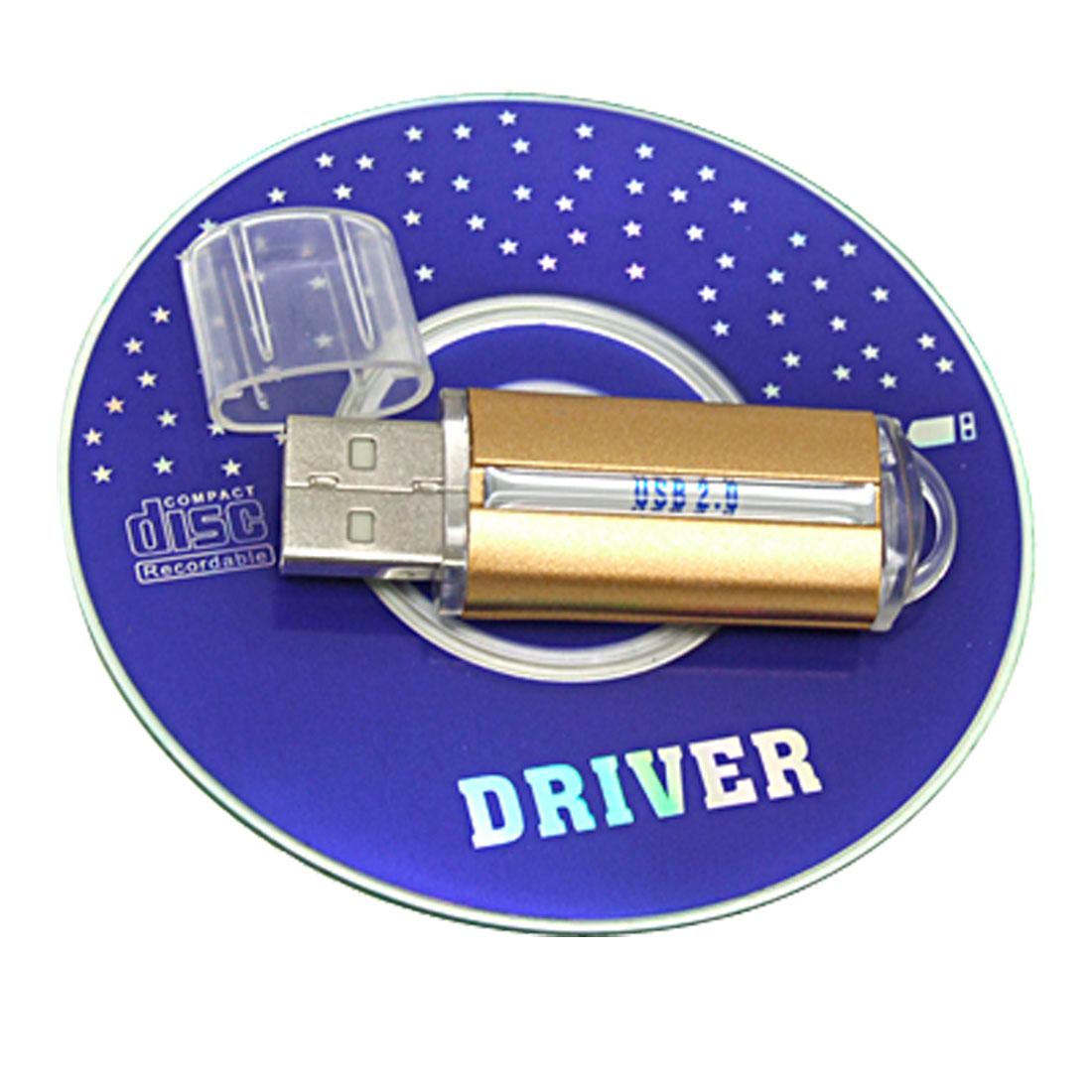 Mini Golden Wireless USB 2.0 bluetooth V2.0 Adapter Dongle