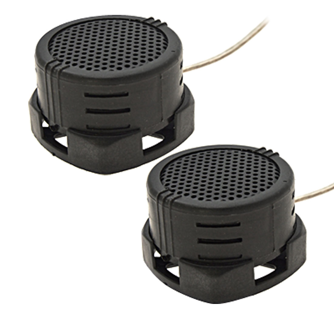 2x 40 Watt Auto Car Loud Dome Tweeters Speakers Black