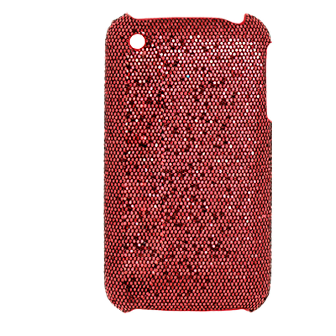 Red Plastic Hard Case Back Cover for Apple iPhone 3G / 3GS