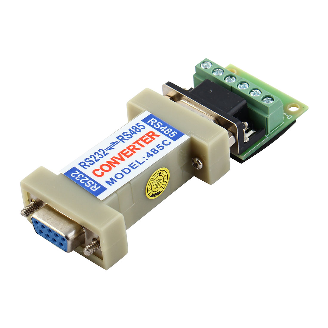RS232 to RS485 Communication Data Converter Adapter with a Terminal Board