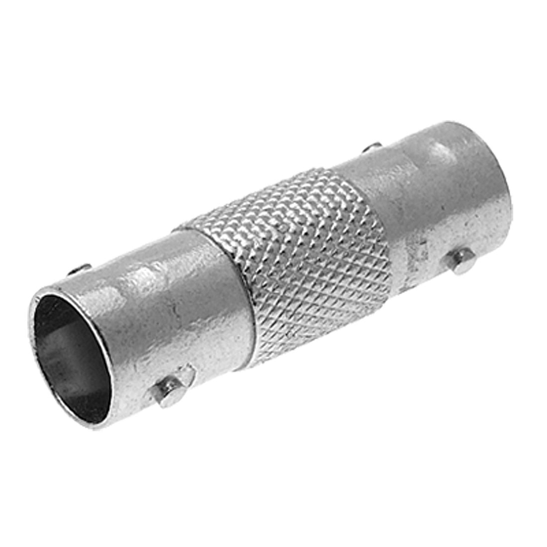 Silvery BNC Female to Female Couplers Connector Adapter