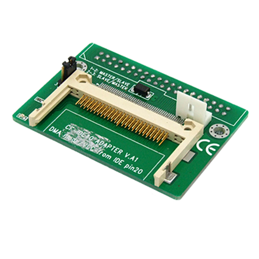 CF Compact Flash to 40 Pin IDE Female Adapter Bend Angle