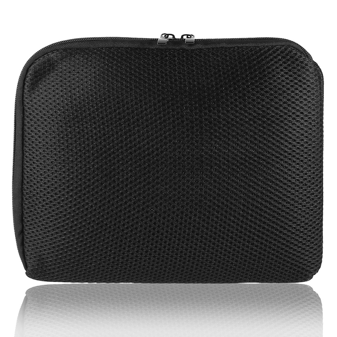 "10"" 10.1"" 10.2"" Black Mesh Notebook Laptop Sleeve Bag Case forTouchPad"