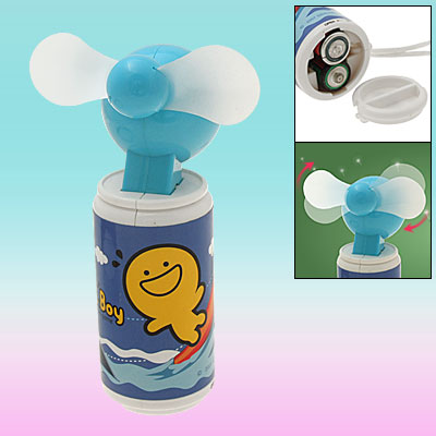 Mini Pocket Cooler Personal Air Fan with Neck String