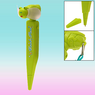 Green Cartoon Pocket Honeybee Pattern Fan Air Cooler with pen